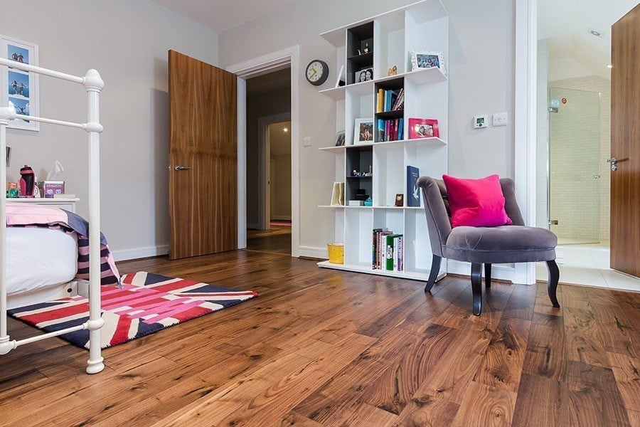 Sweet Dreams In Oxshott With V4s Alpine Planks Installed In The