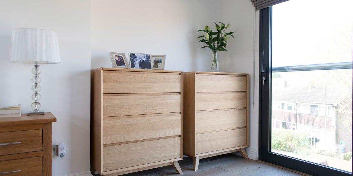 Deco Frozen Umber Wood Floors Deliver Soft Serene Bedroom Style In