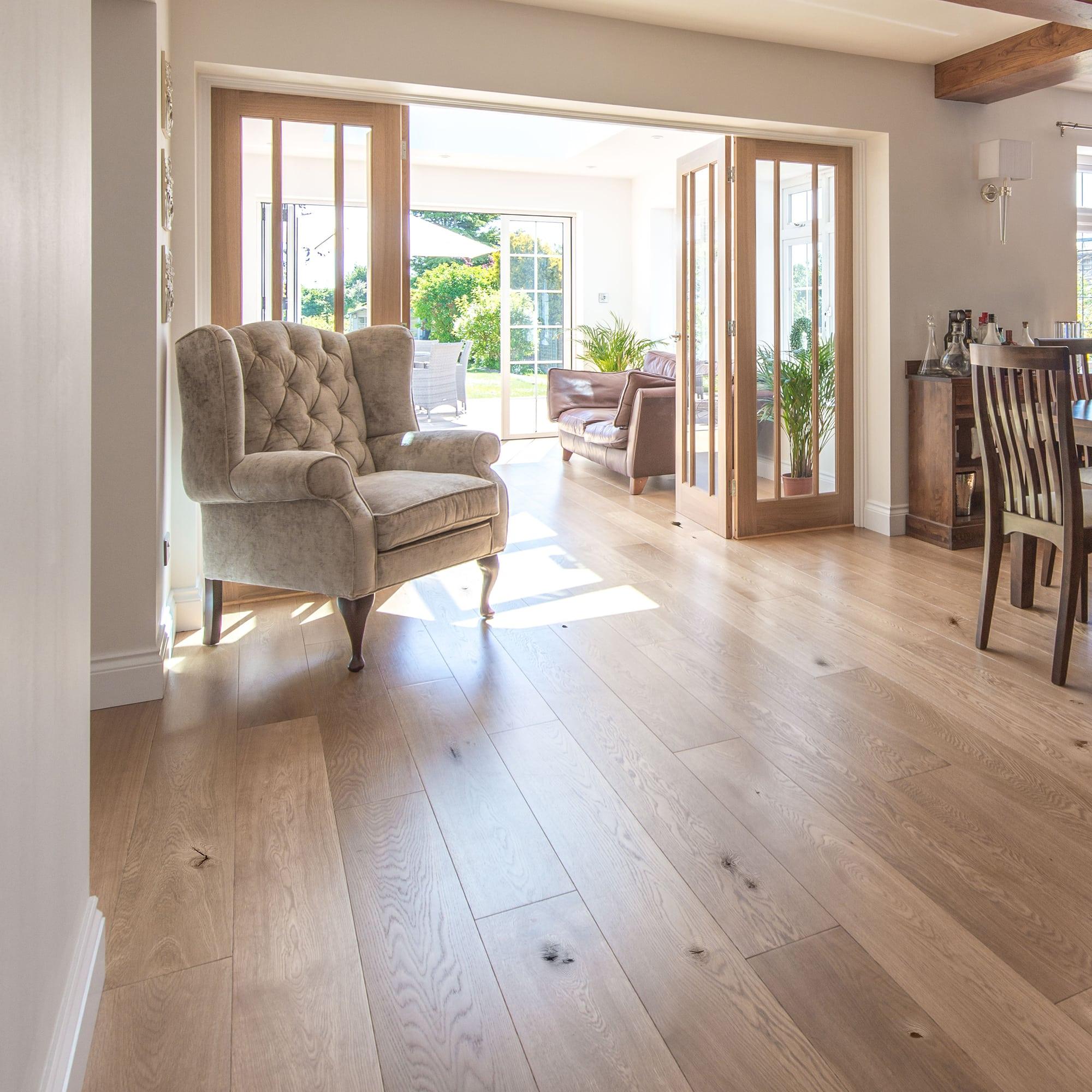 A110 Oak Rustic Matt Lacquered V4 Wood Flooring Ltd