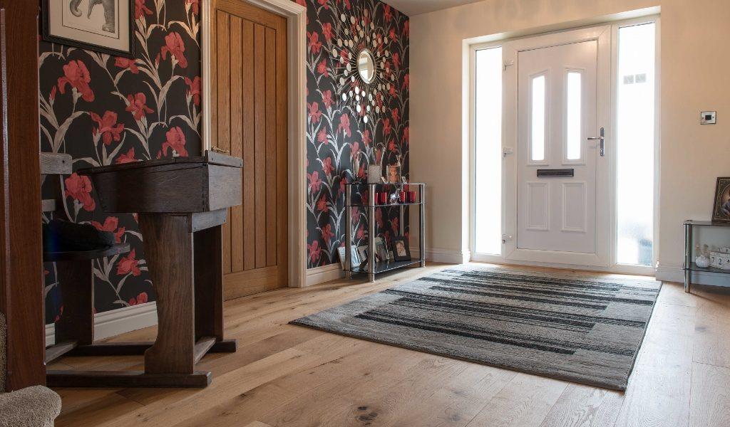 Eiger Oak Brushed Oiled Wood Floors In Surrey Home V4 Wood Flooring