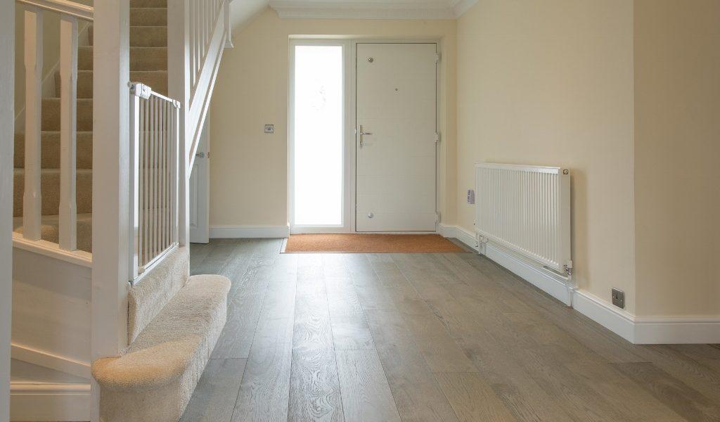 Deco Smokehouse Grey Oak Wood Floors Chosen For Family Home Renovation