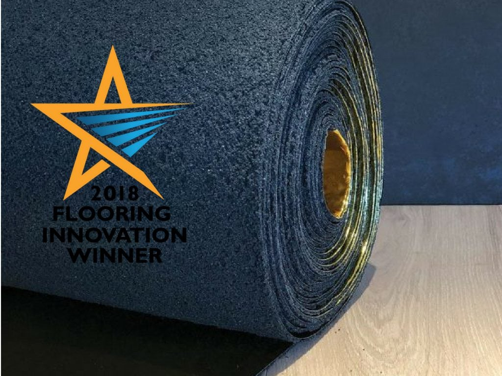 flooring innovation awards underlay