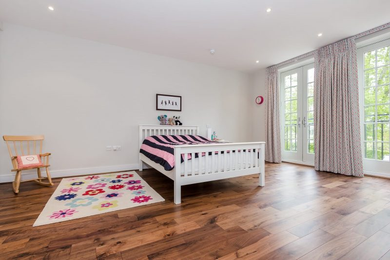 walnut wood floors in surrey bedrooms