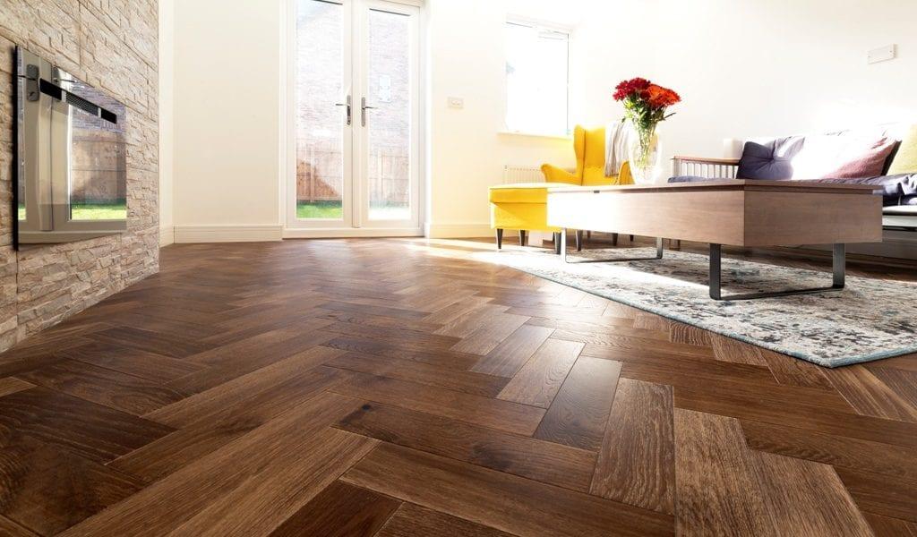 Manchester Install V4 Zigzag Herringbone Wood Floors