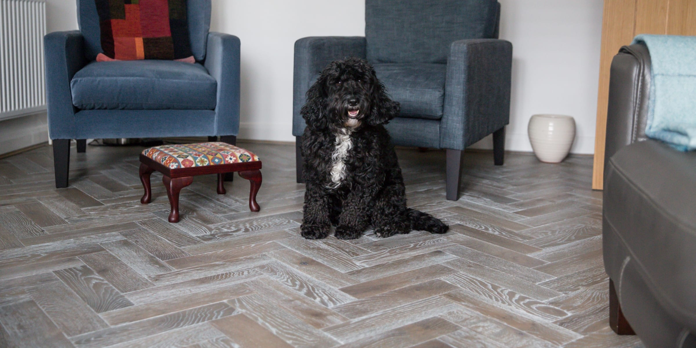 zigzag silver haze in cotswold home 2