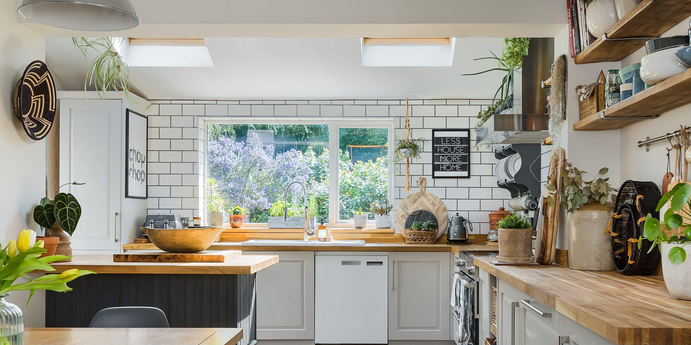 kitchen with zigzag frozen umber 3