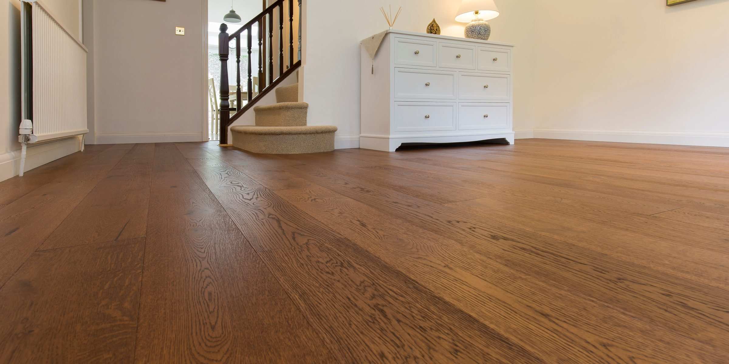 V4's Home Abinger wood floors in Bolton home