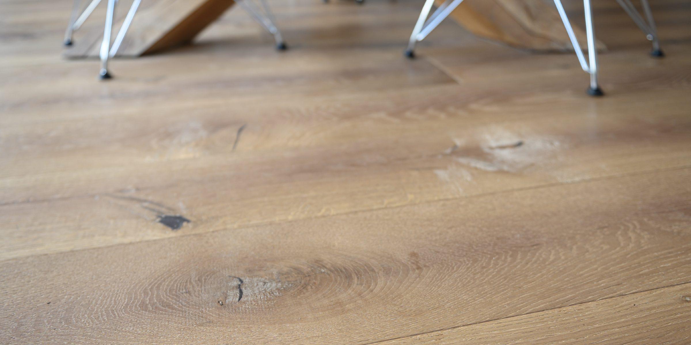 fired brick wood floors