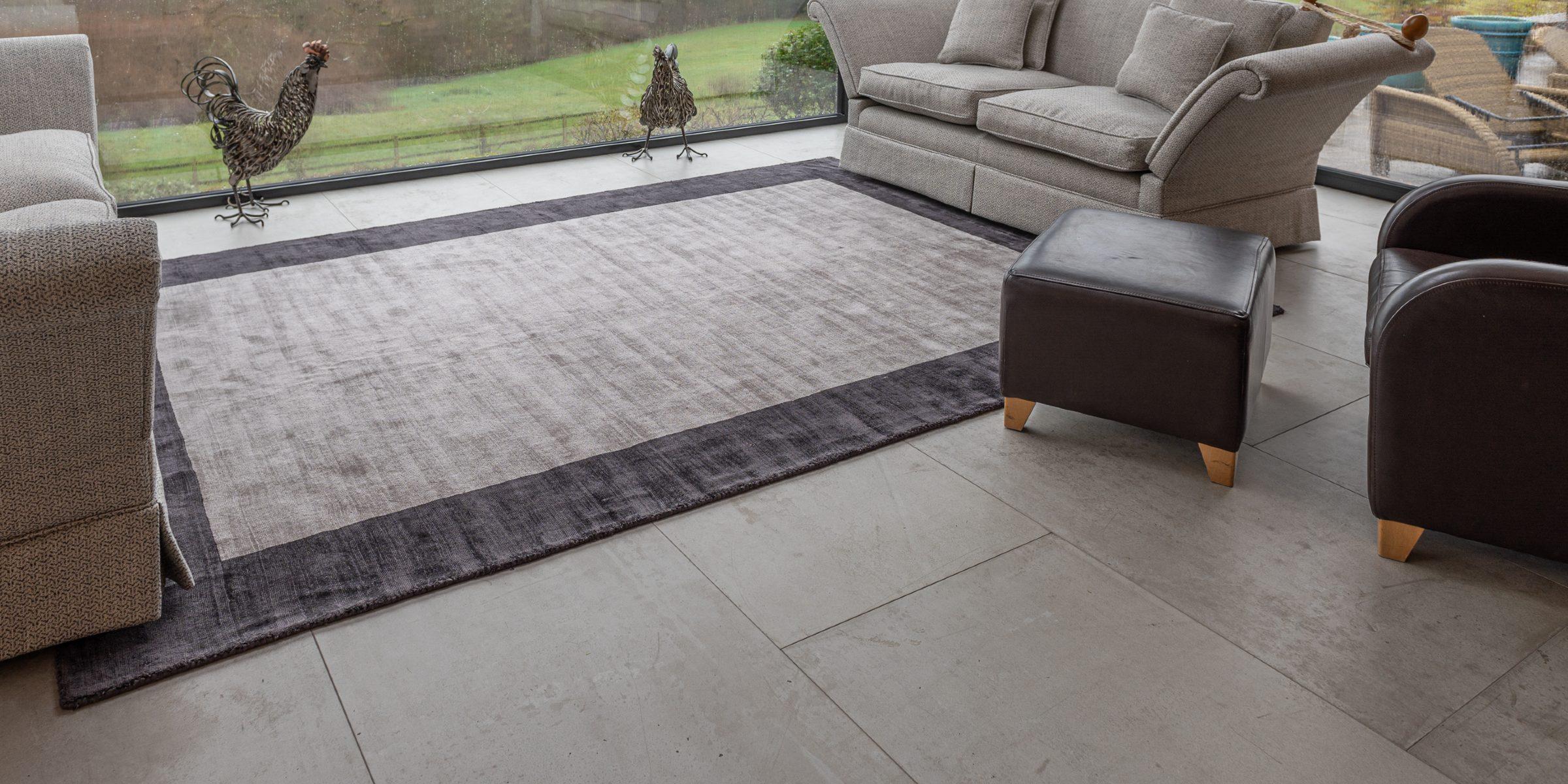 concreate natural grey floors in cranleigh home