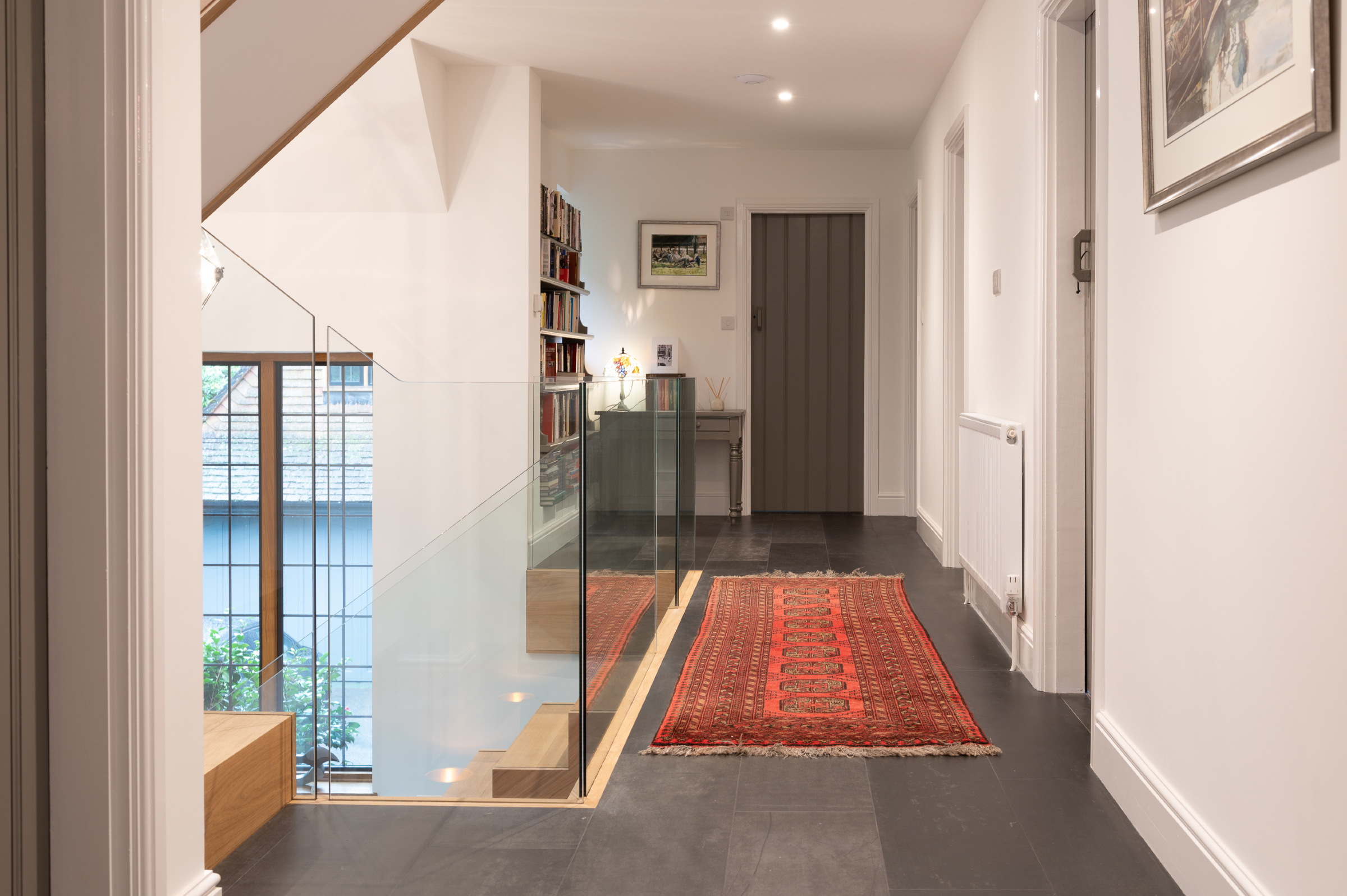 cranleigh home renovation with Concreate in Titanium Black