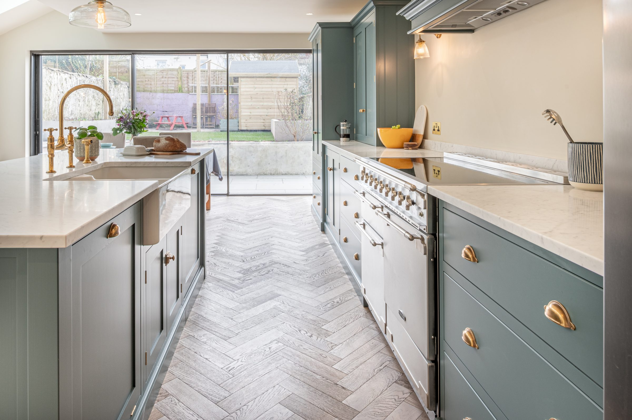 Engineered wood floors for modern kitchen design   V9 Wood Flooring